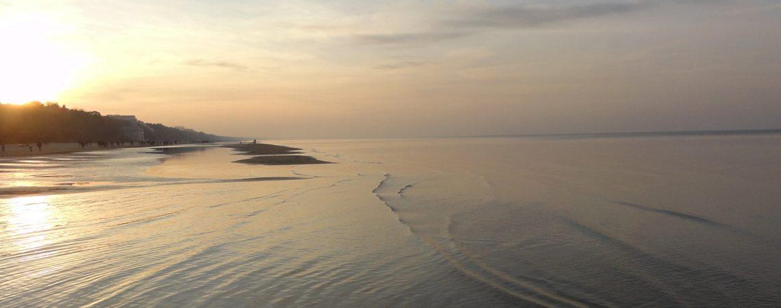 Штиль на Балтийском море в ноябре