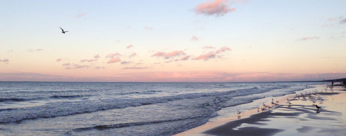Юрмала - закат на море