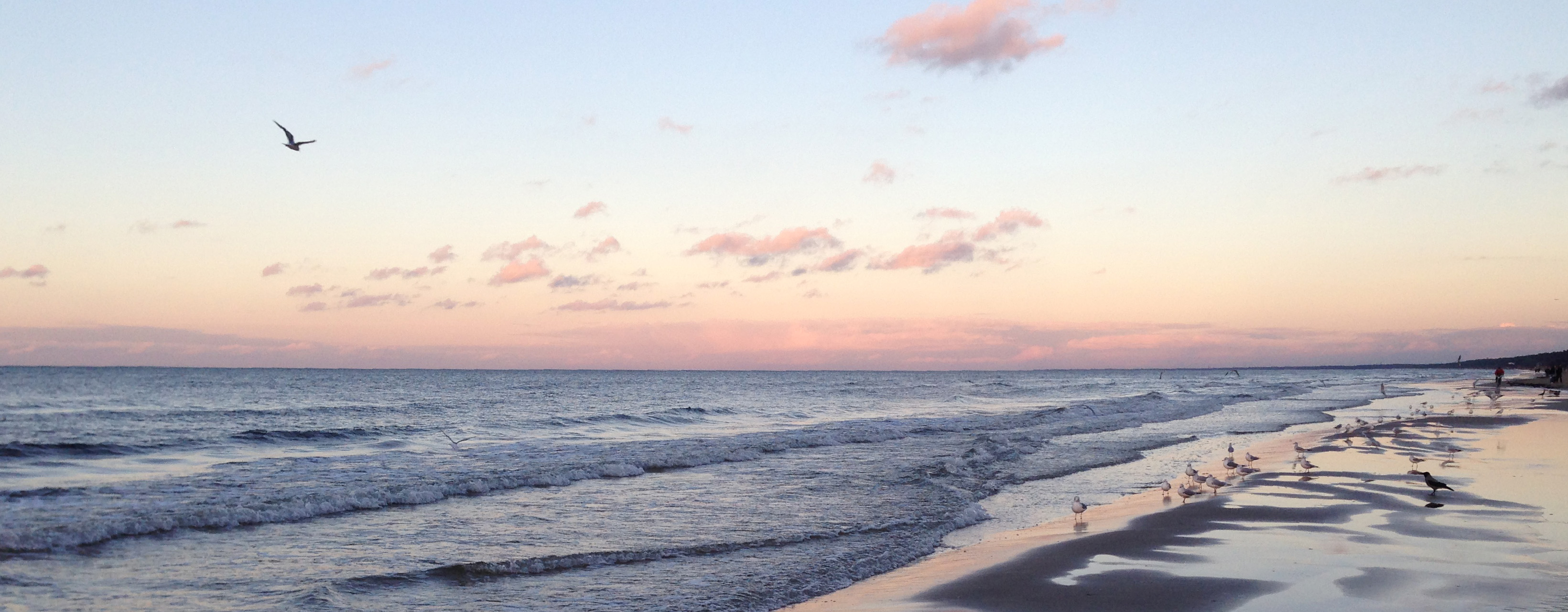 Юрмала закат на море пейзажи природы Альберт Сафиуллин