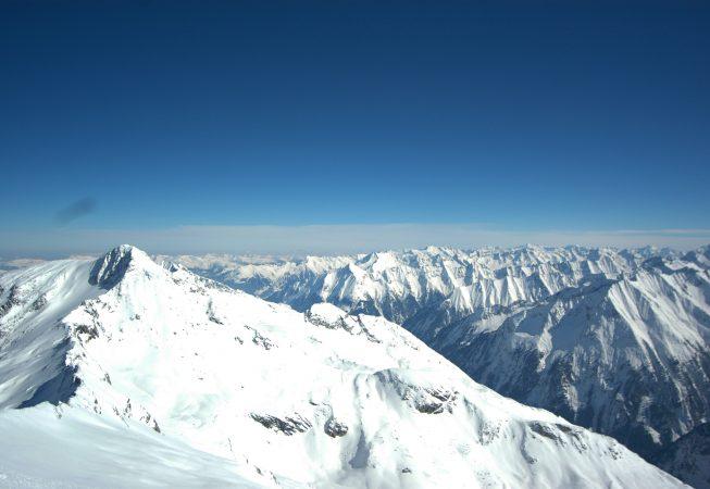 Альпийский горизонт пейзажи природы Сафиуллин