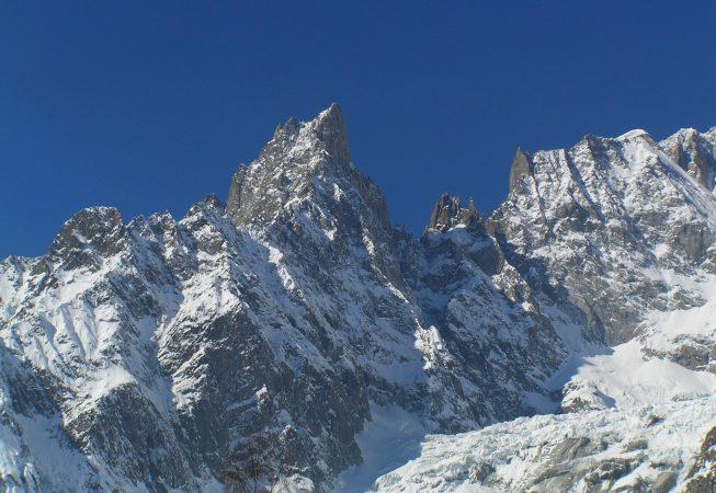 Ледник в Альпах пейзажи природы Сафиуллин