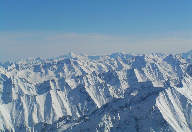 Австрийские Альпы пейзажи природы Сафиуллин