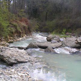 Пороги на реке Псахо Сочи пейзажи природы Сафиуллин