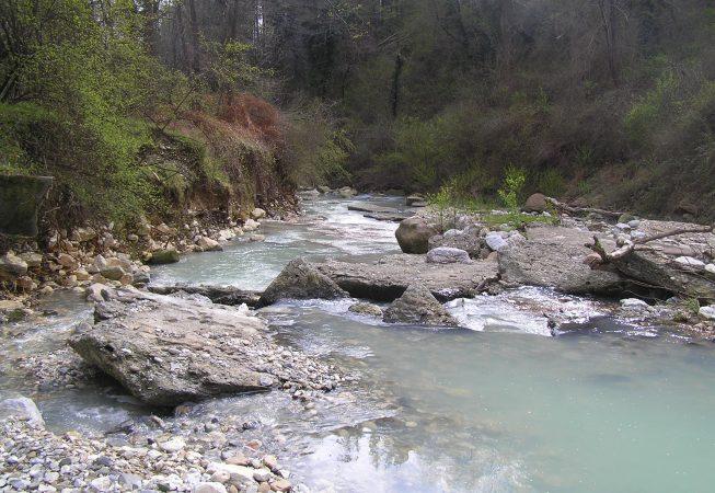 Пороги на реке Псахо. Сочи.