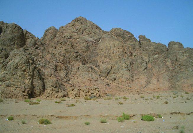 Синайские горы. Шарм-эль-Шейх