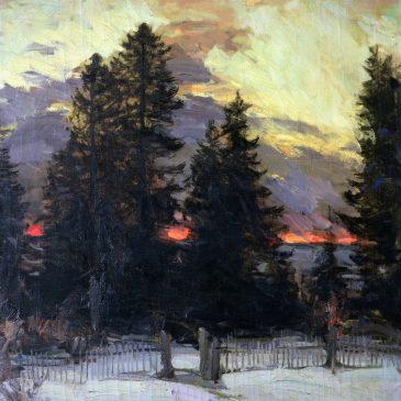Русский пейзаж в музее Орсей: Абрам Архипов