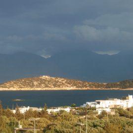 Море перед грозой — Родос