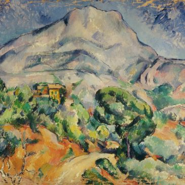 Сезанн картина Sainte-Victoire 1899 Эрмитаж пейзажи природы Сафиуллин