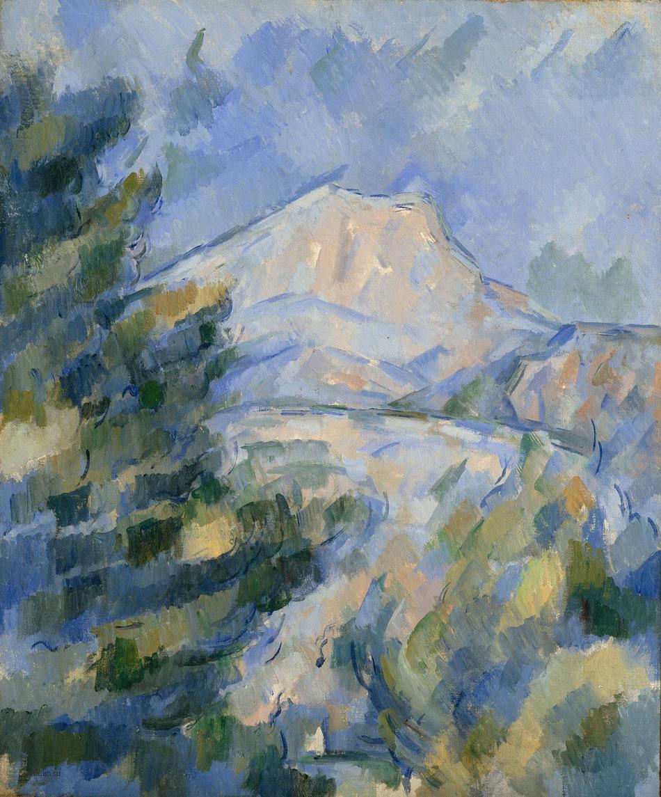 Сезанн La Montagne Sainte Victoire пейзажи природы Сафиуллин
