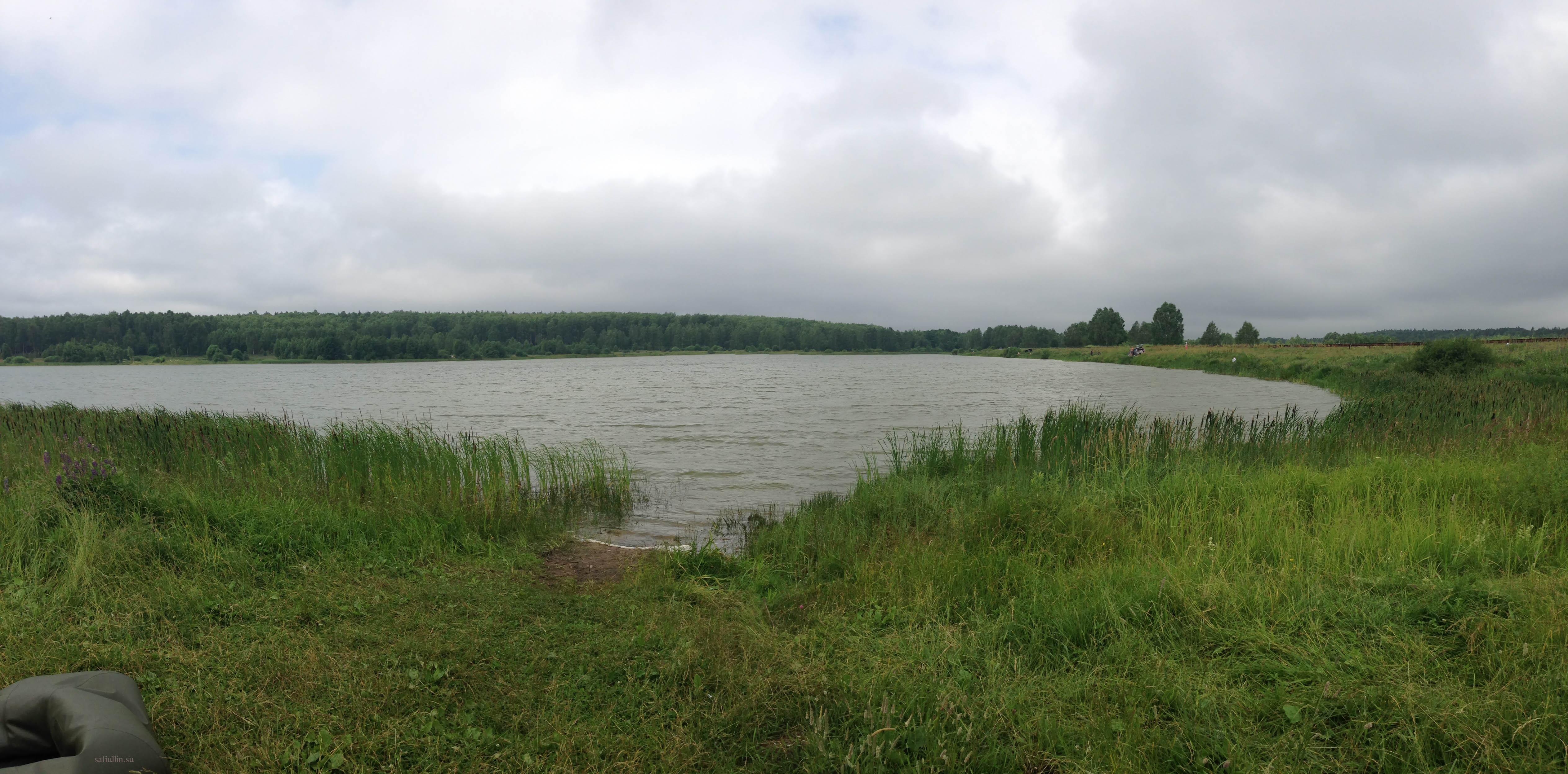 Генеральское озеро Нижегородская область пейзажи природы Альберт Сафиуллин