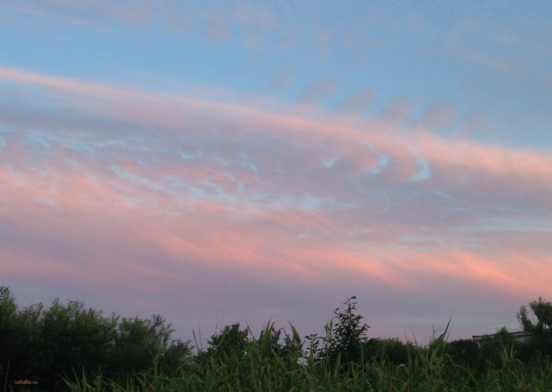 пейзажи природы альберт сафиуллин восход солнца лето