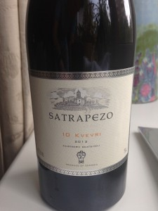 Satrapezo 10 kvevri - Georgina Red Wine