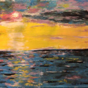 Акриловое море — акриловый закат