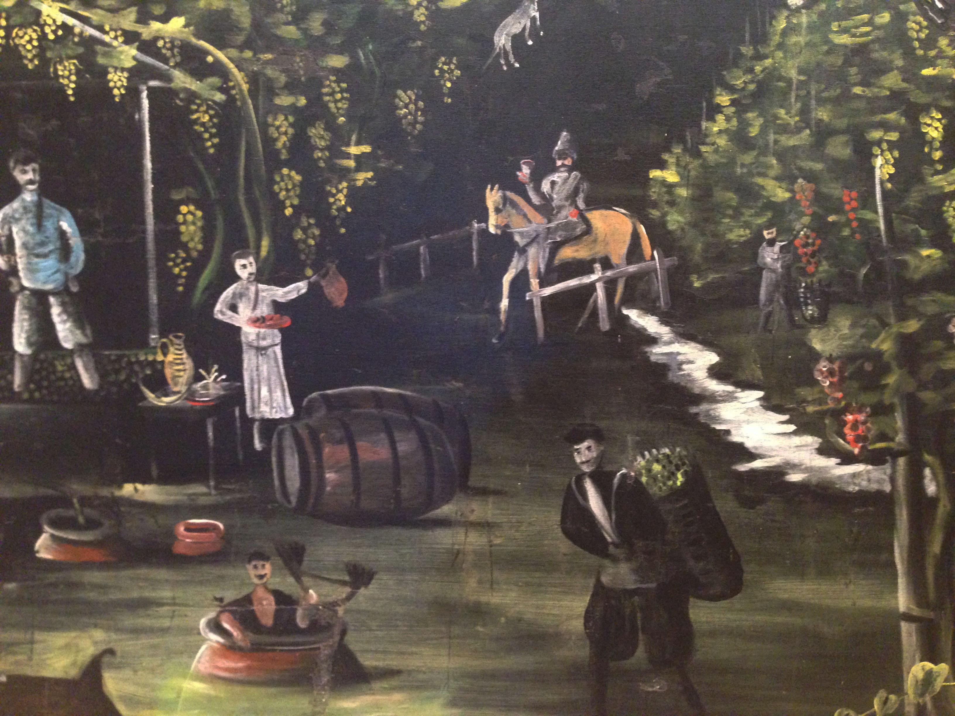 Пейзажи природы Грузия Пиросмани ртвели квеври вино Альберт Сафиуллин