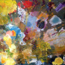 Пейзажи природы букет картина маслом цветы художник Альберт Сафиуллин