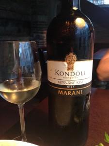 Грузинское вино Киси-Мцване Kondoli (1)