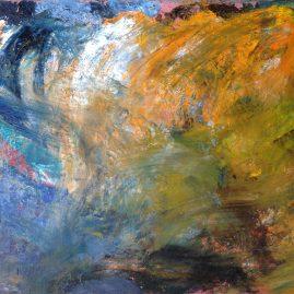 Пейзажи природы спектр эмоций картина маслом художник Альберт Сафиуллин