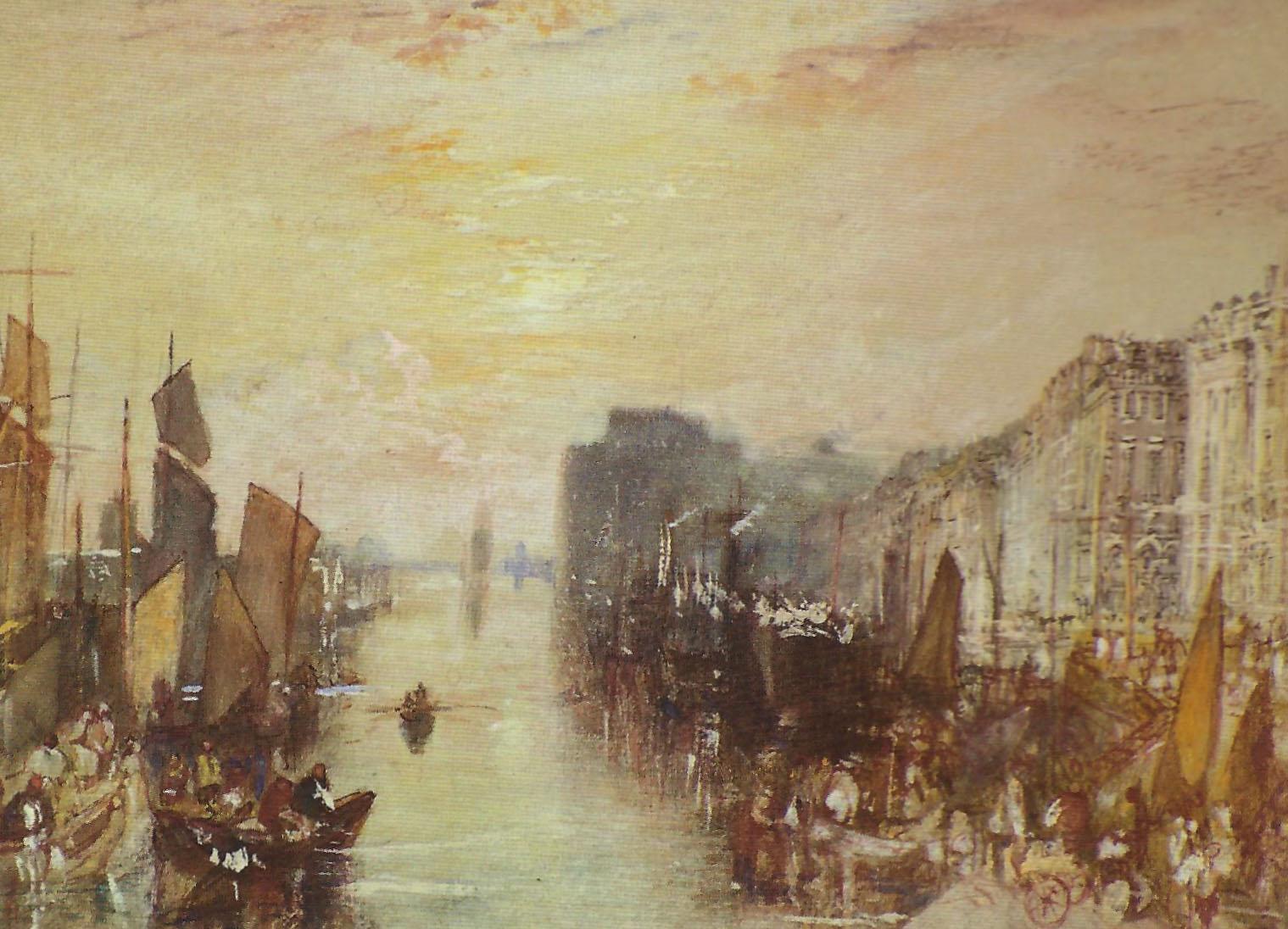Пейзажи природы картины Уильям Тернер Гавр Альберт Сафиуллин