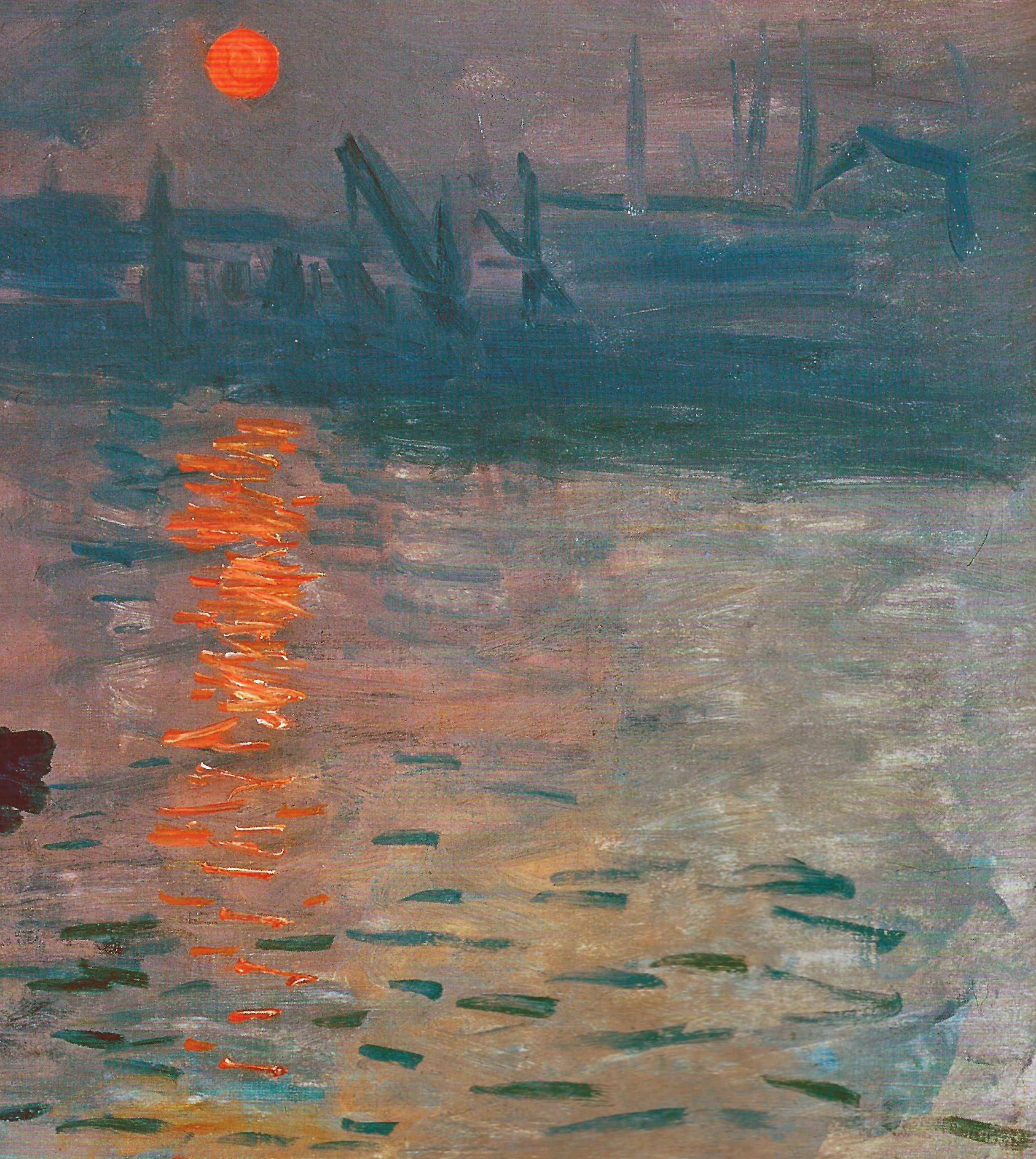 Пейзажи природы картины Клод Моне Monet Impression Sunrise Альберт Сафиуллин
