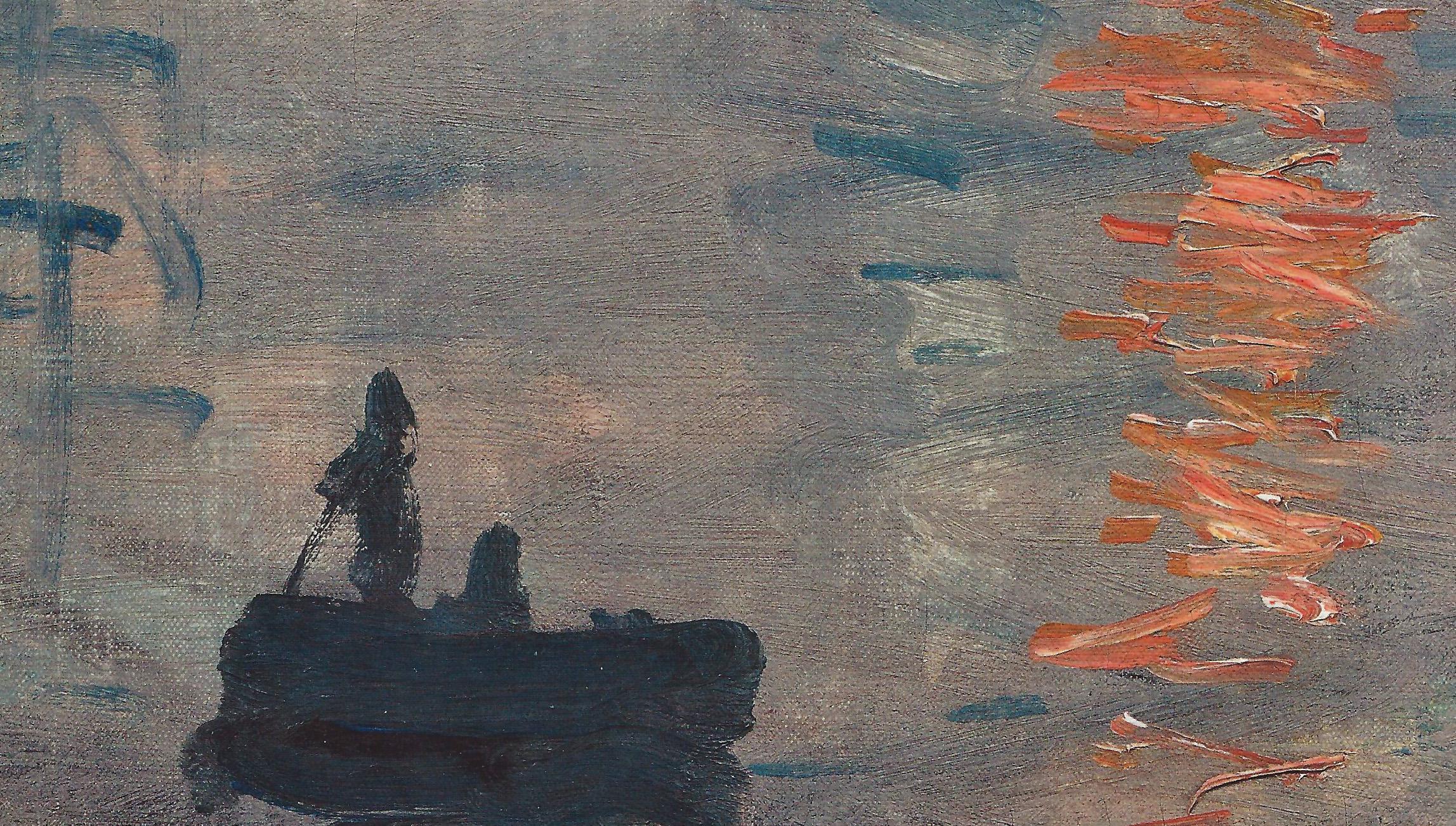 Пейзажи природы картины Клод Моне Impression Sunrise Альберт Сафиуллин