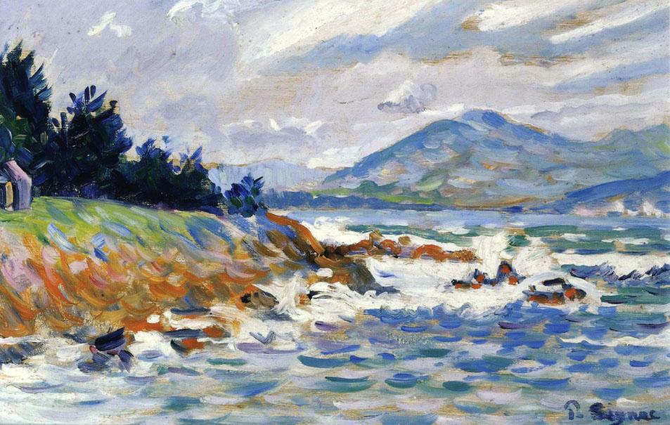 Художник Поль Синьяк Signac картина Saint Tropez пейзажи природы Альберт Сафиуллин