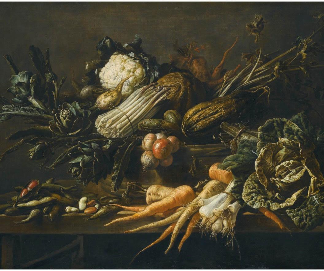 Художник Adriaen van Utrecht Натюрморт с артишоками цвета и краски природы Альберт Сафиуллин