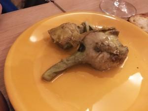 Артишоки гриль Vinoteca Novecento Рим кулинария гурме Альберт Сафиуллин