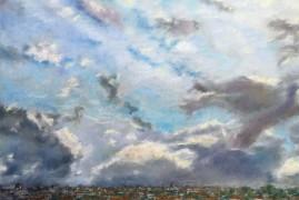Небо над Римом — вид с холма Эсквилин