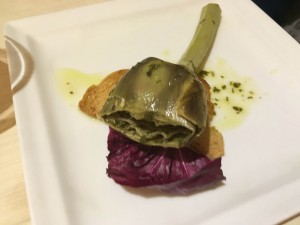 Запеченный артишок Taverna Antonina Рим кулинария Альберт Сафиуллин