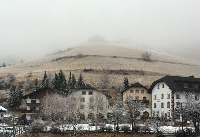 Санта Кристина (Доломиты) - туман