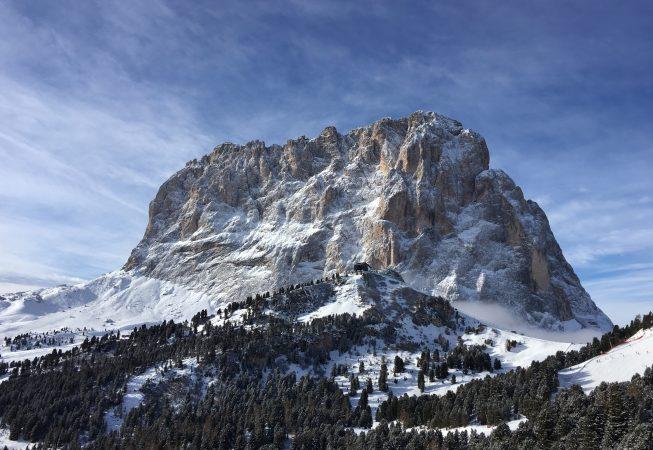 Вершина Сассолунго  -  3181 метр