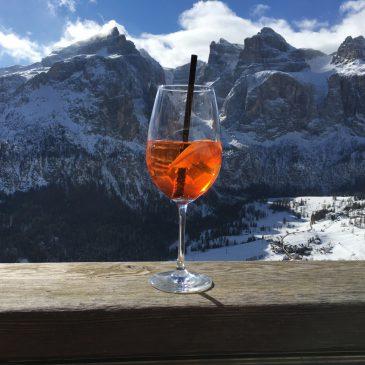 Апероль Шприц — фирменный коктейль Доломитовых Альп