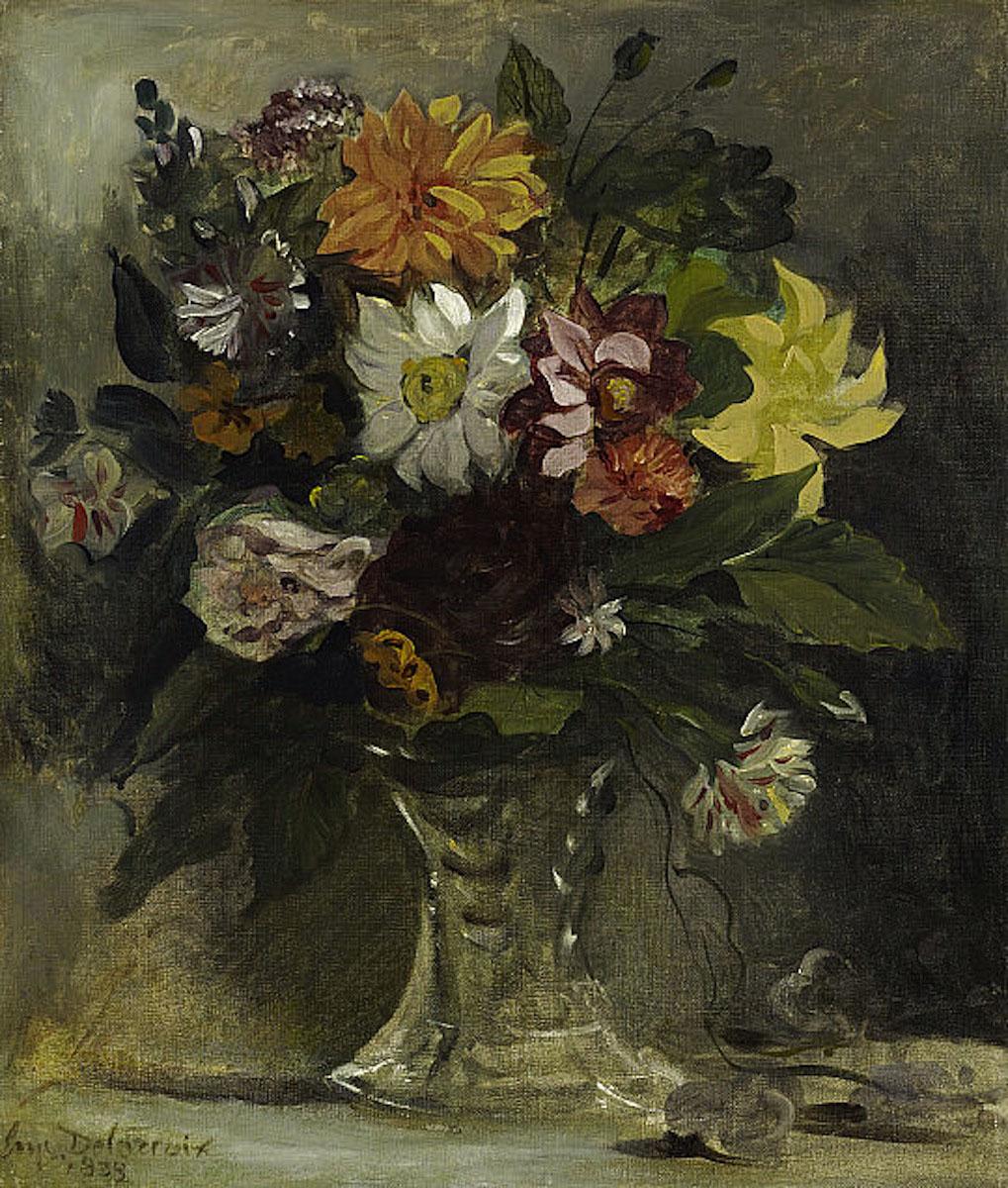 Делакруа Delacroix карина цветы в вазе Альберт Сафиуллин