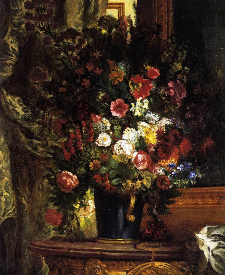 Делакруа Delacroix картина цветы Альберт Сафиуллин
