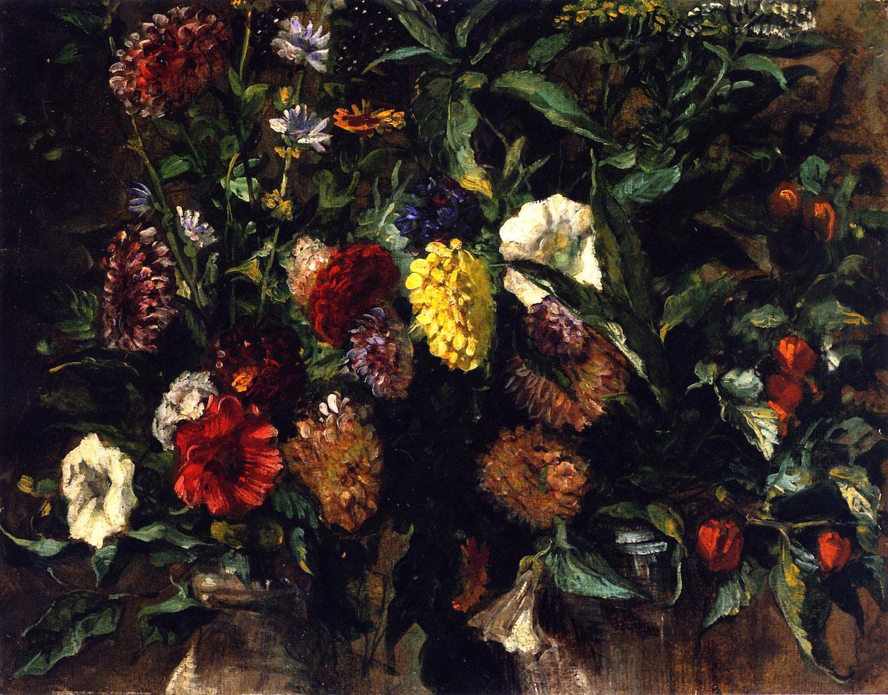 Делакруа Delacroix картина Bouquet of Flowers Альберт Сафиуллин