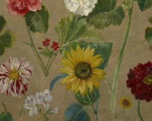 Эжен Делакруа (Eugène Delacroix) - Untitled (Flowers) (Minneapolis Institute of Arts, USA) фрагмент (3)
