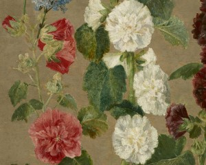 Эжен Делакруа (Eugène Delacroix) -Untitled (Flowers) (Minneapolis Institute of Arts, USA) фрагмент