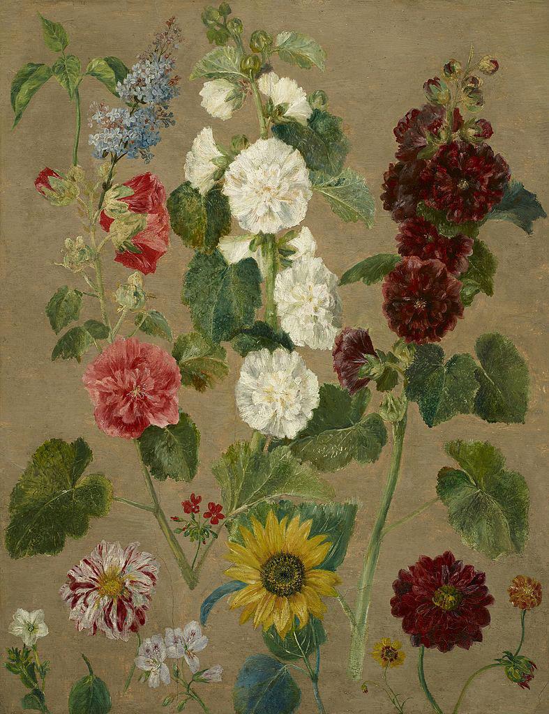 Делакруа Delacroix картина Цветы краски природы Альберт Сафиуллин