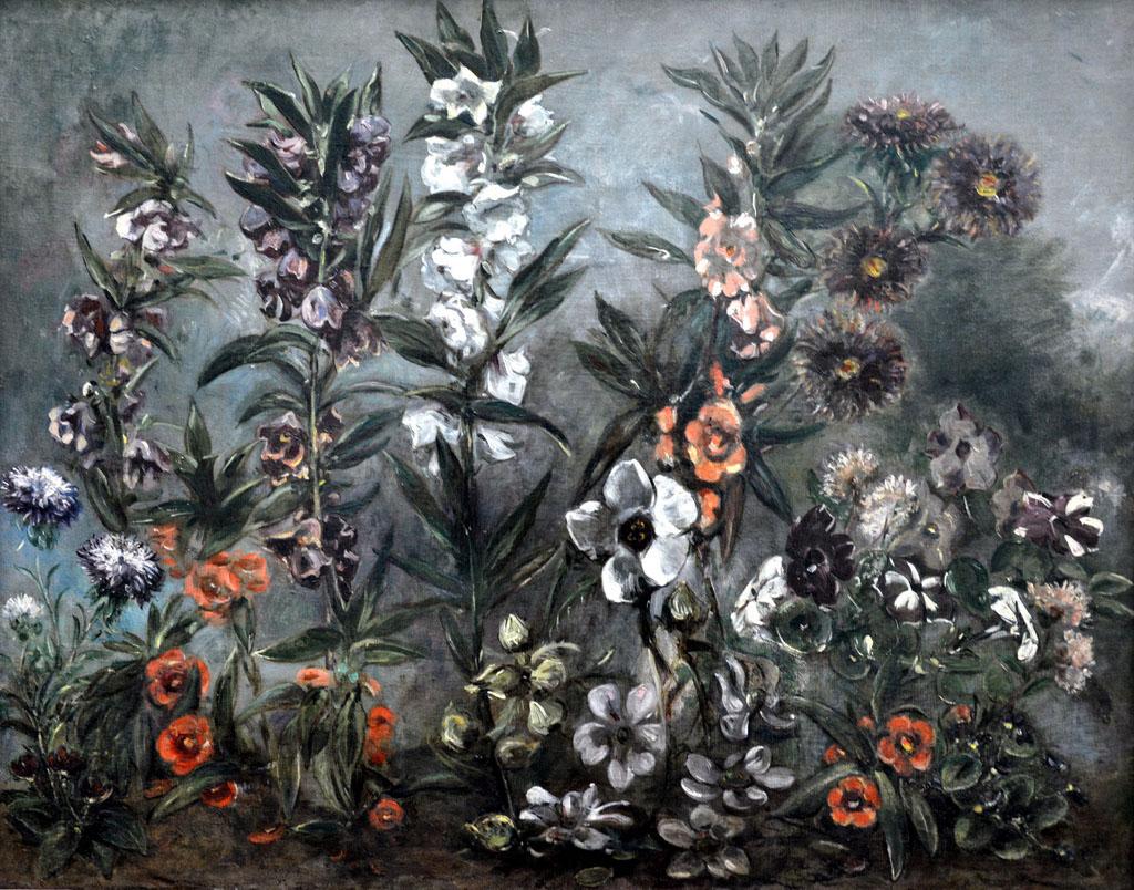 Художник Делакруа Delacroix Астры пейзажи природы Альберт Сафиуллин