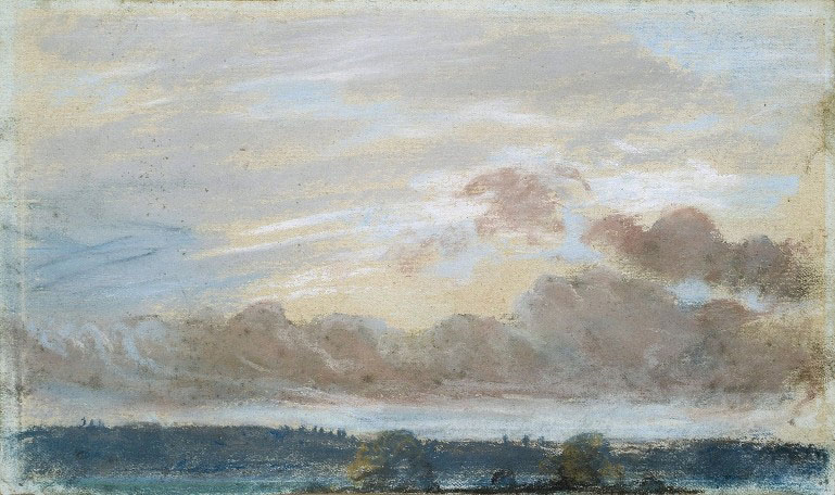Делакруа Delacroix Sky рисунок пейзажи природы Альберт Сафиуллин