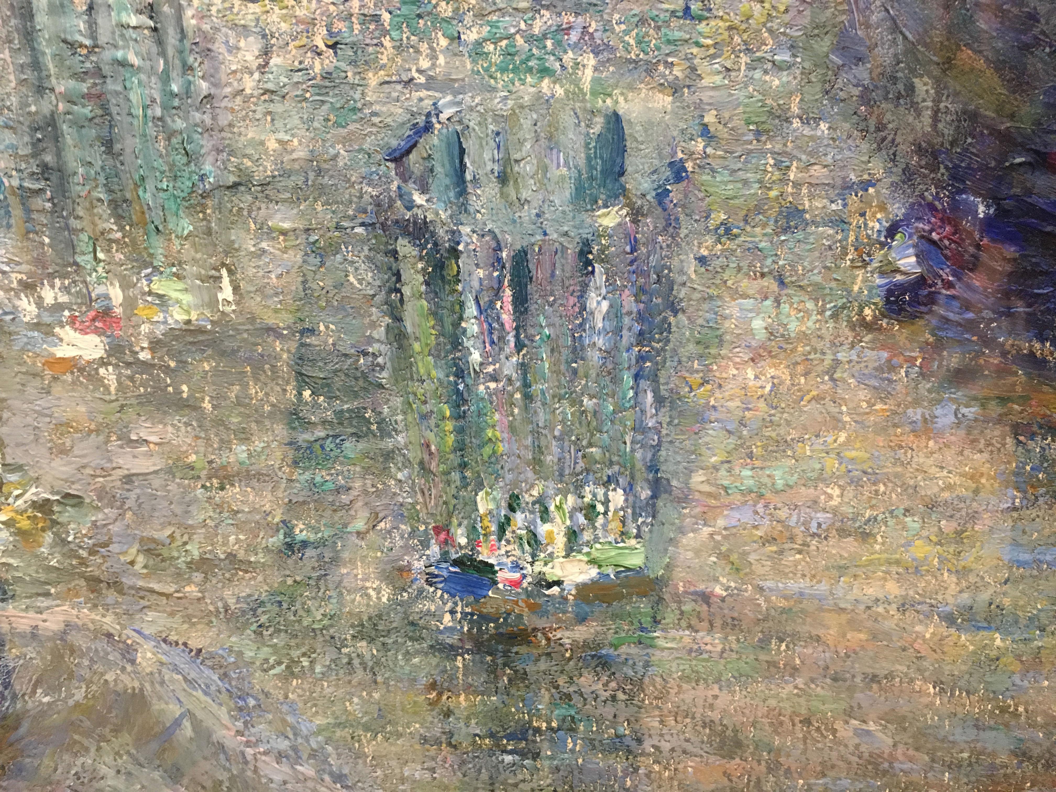 Художник Игорь Грабарь картина Хризантемы пейзажи природы Альберт Сафиуллин
