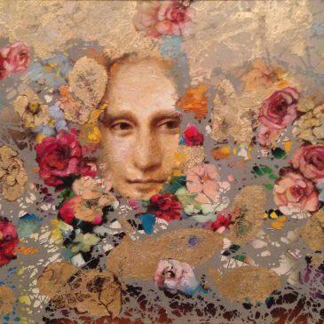 Никас Сафронов картина явление Джоконды через цветы блог Альберт Сафиуллин