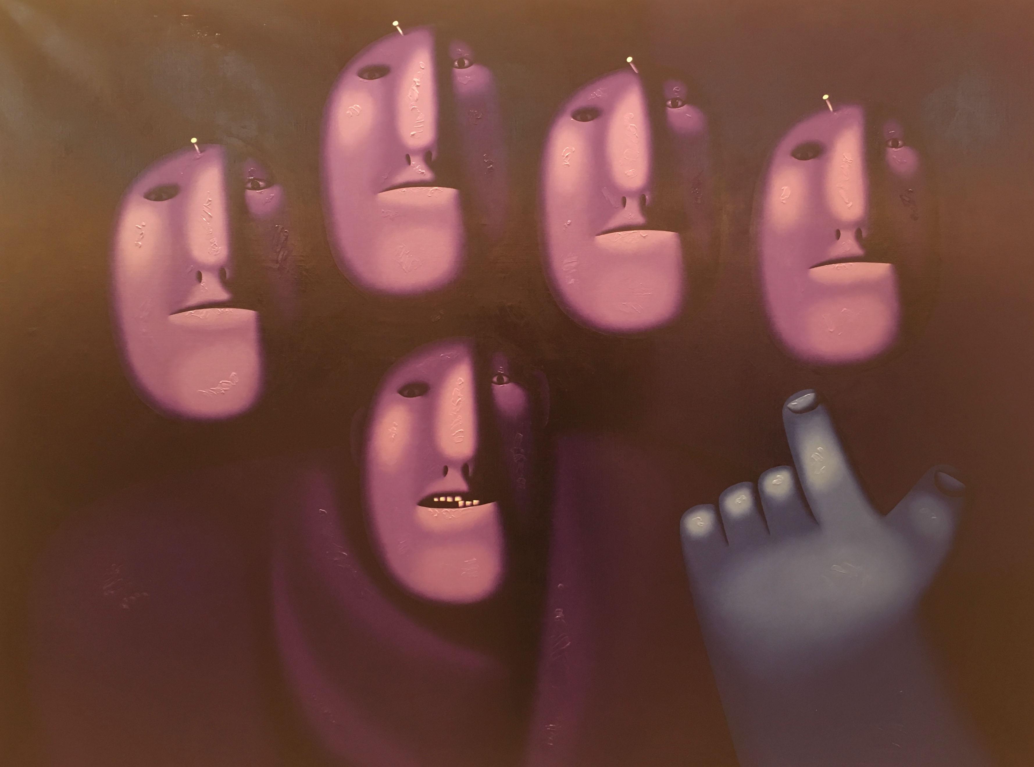Художник Олег Целков картина Без названия пейзажи природы Альберт Сафиуллин
