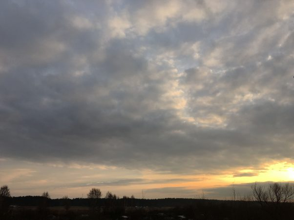 Латвия Весна Март Холодный закат в Юрмале пейзажи природы Альберт Сафиуллин