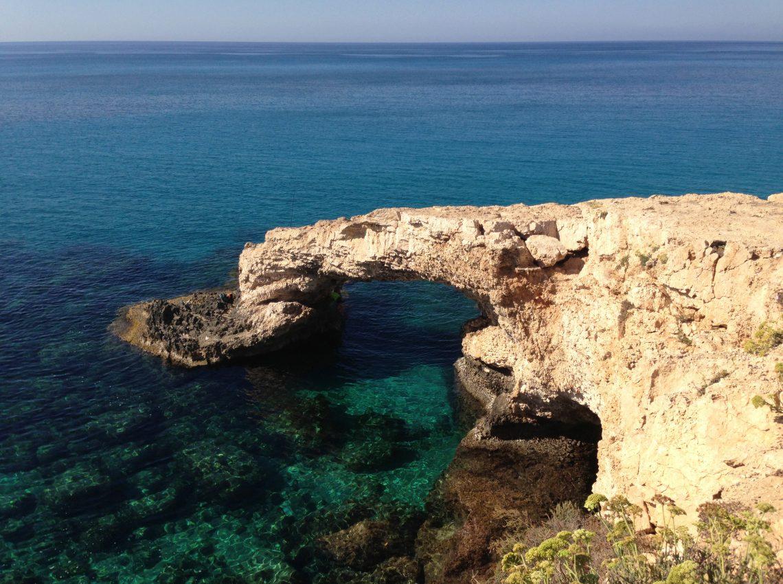 Море. Восточный Кипр.
