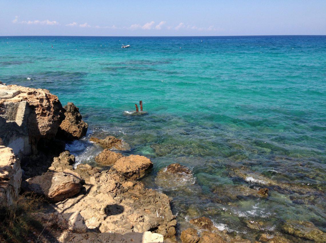 Средиземное море. Восточный Кипр.