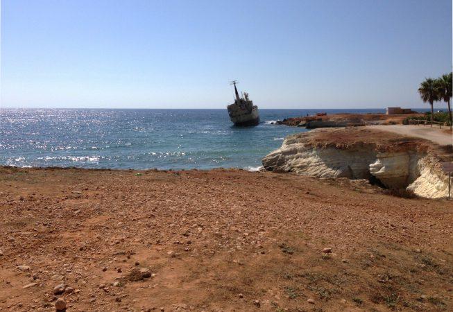 Средиземное море. Западный Кипр.
