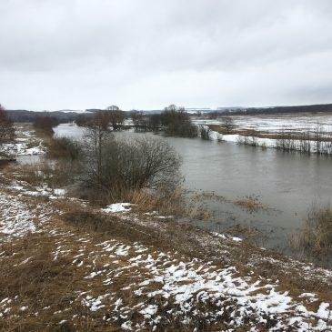 Весенняя рыбалка на реке Пьяна