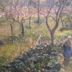 Художник Писарро Pissarro Garden at Val Hermeil пейзажи природы Альберт Сафиуллин