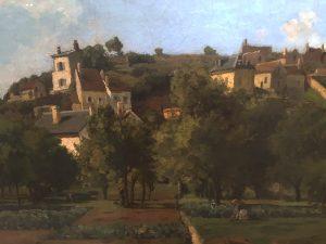 Художник Писарро Pissarro картина Понтуаз Pontoise пейзажи природы Альберт Сафиуллин